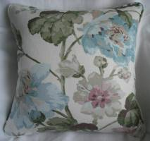Laura Ashley Romilly Duck Egg cushion