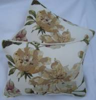 Laura Ashley Gold cushions