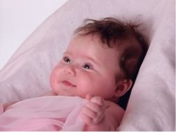 Romilly Haves at 4 months
